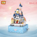 LOZ -- 公主與城堡旋轉音樂盒